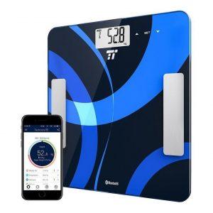 Báscula para medir grasa corporal digital