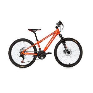 Bicicleta de montaña con discos de freno