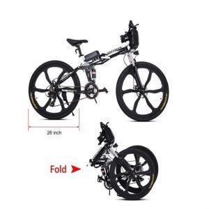 Bicicleta Eléctrica de 26 Pulgadas y 27 Velocidad