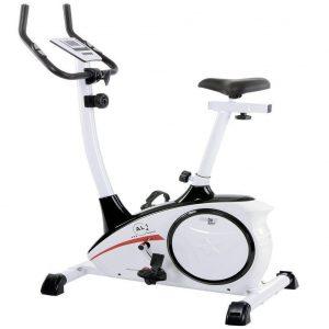 Bicicleta estática con sistema de freno magnético