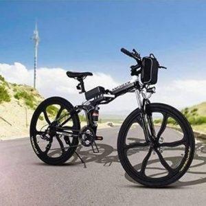 Bicicleta Plegable de Montaña con Batería