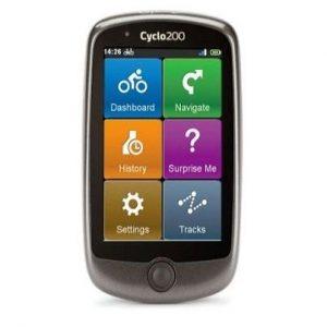 GPS de senderismo con pantalla táctil Ciclo200