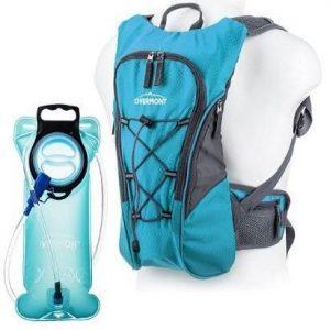 Mochila para senderismo con sistema de hidratación Overmont