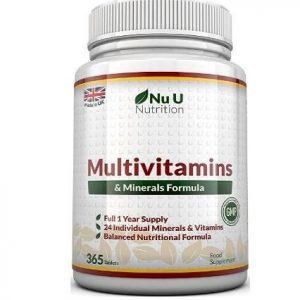 Multivitamínico con minerales Nu U Nutrition