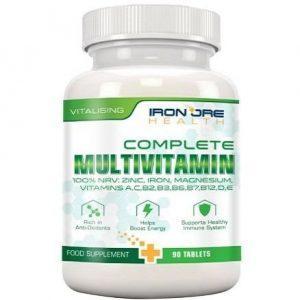 Multivitamínico Iron Ore Health en tabletas
