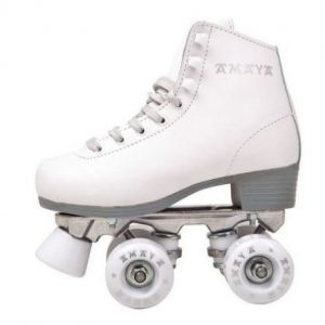 Patines de 4 ruedas blancos