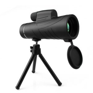 Prismático monocular con formato telescopio