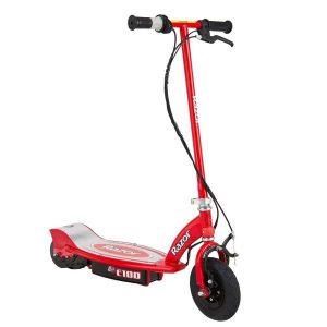 Scooter eléctrico Razor rojo