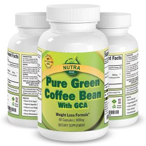 Suplemento dietético Puro Extracto de Grano de Café Verde