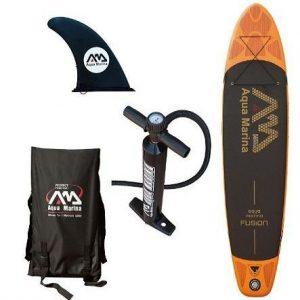 Tabla de Paddle Surf Hinchable Aqua Marina Fusión