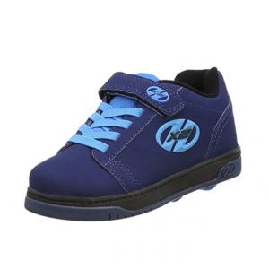 Zapatillas con ruedas azules