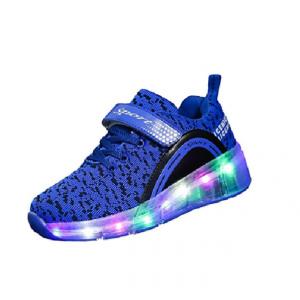 Zapatillas roller con LED