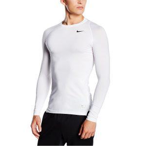 Camiseta técnica para el running manga larga