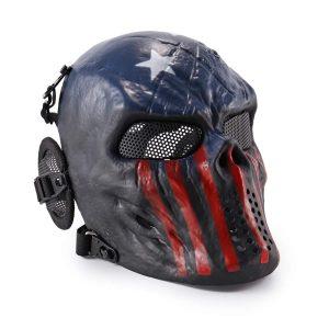 Máscara de paintball Capitán América