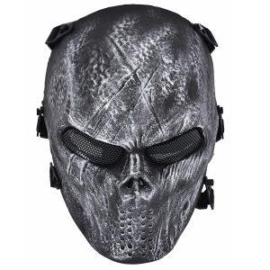 Máscara de paintball fantasma