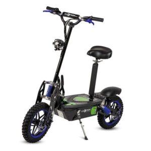 Scooter eléctrico con sillín desmontable