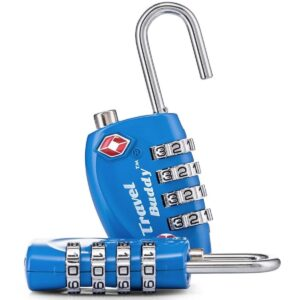 Candado de seguridad para taquilla azul