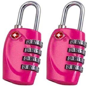 Candado de seguridad para taquilla rosa