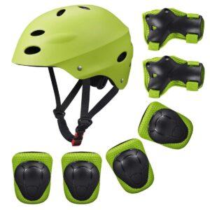 Casco para patinete eléctrico con protecciones