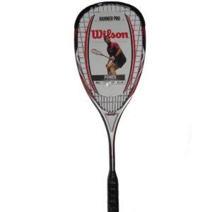 Raqueta squash que reduce la vibración