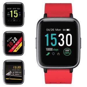 Smartwatch deportivo con pantalla táctil