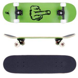 Skateboard atrevido