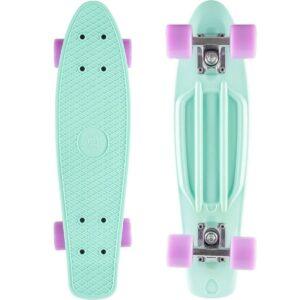 Skateboard turquesa