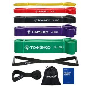 Pack de bandas elásticas de fitness con accesorios