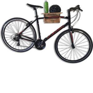Soporte de bicicleta de pared plegable