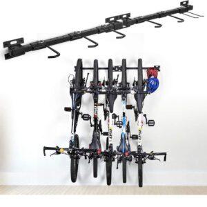 Soporte de bicicleta de pared resistente