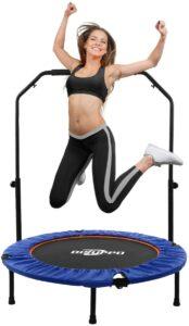 Cama elástica de fitness de interior y exterior