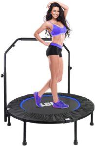 Cama elástica de fitness peso máximo 150 kg