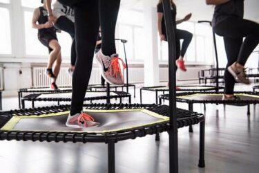 Camas elásticas de fitness