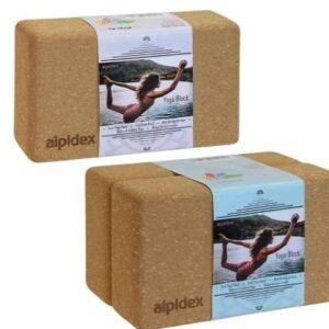 Bloque de yoga de corcho Alpidex