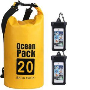 Bolsa estanca para rafting con capacidad de 20 litros