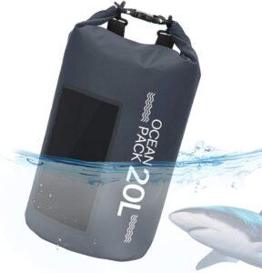 Bolsa estanca para rafting con correa de hombro ajustable