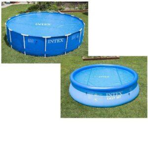 Cubierta de piscina redonda