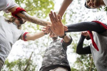 Las 6 mejores actividades de team building al aire libre